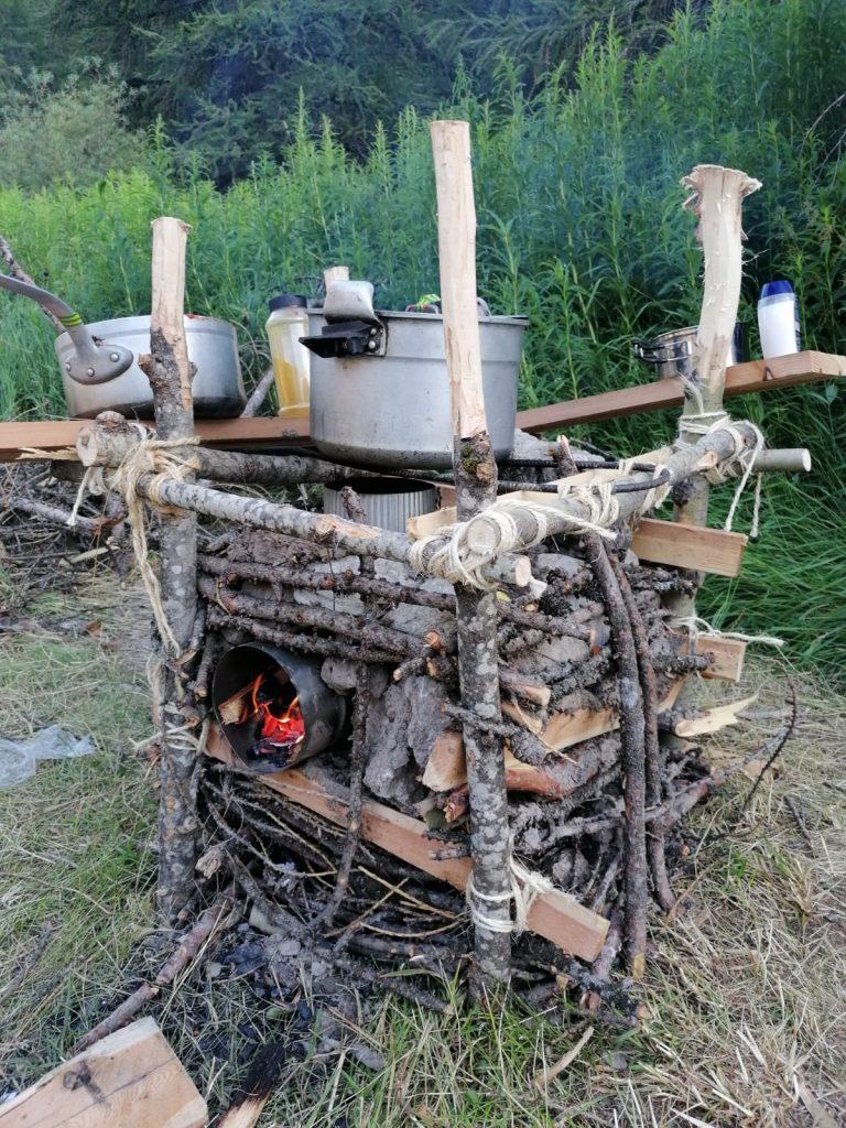 """La fameuse """"table à feu"""""""